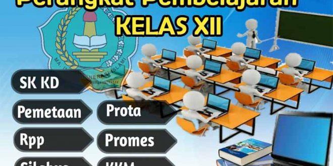 perangkat pembelajaran kelas xii sma kurikulum 2013 revisi 2019
