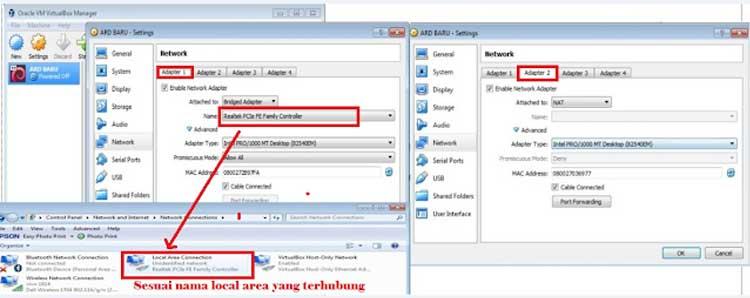 cara setting ip client ard, guru untuk akses ard