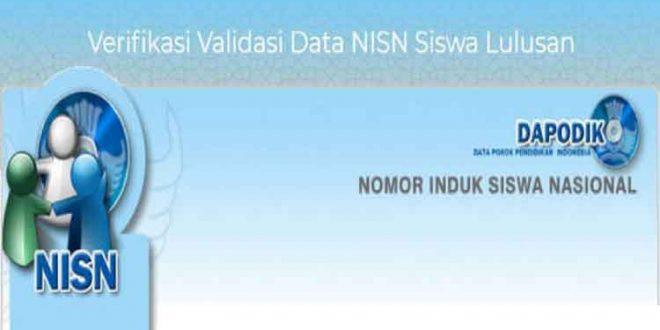 Cara Mengajukan Ajuan NISN Baru dan Edit NISN