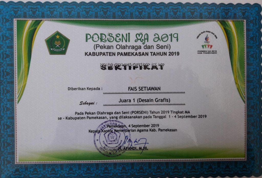 juara porsein desain grafis 2019